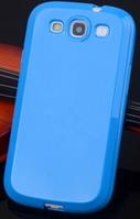 Cиликоновый чехол Samsung Galaxy S3 i9300 синий, фото 1