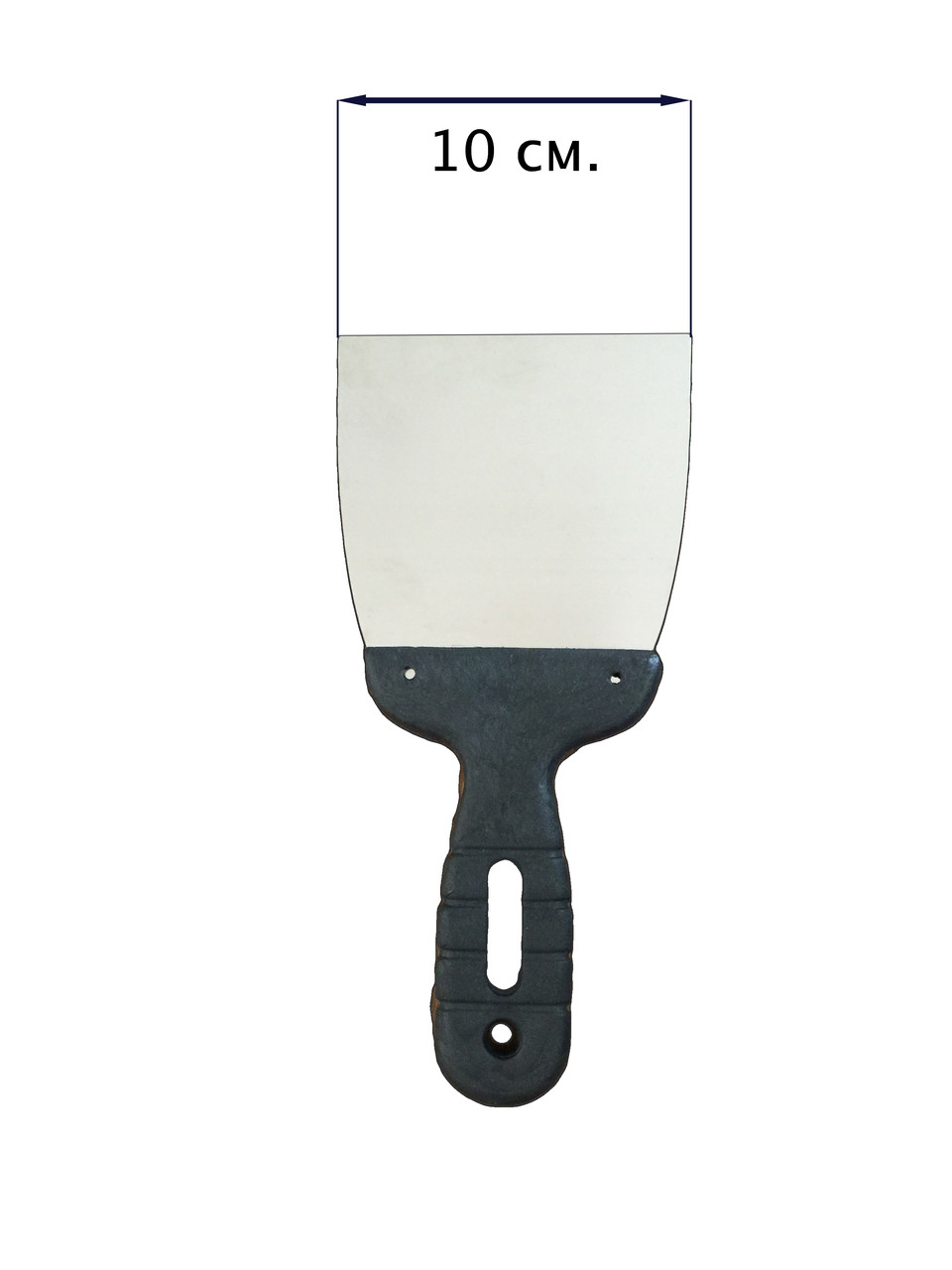 Шпатель с нержавеющей стали 100 мм