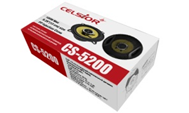 """Автоколонки """"Celsior""""  5.25"""" 180 Вт/2-пол. черные/желтый динамик (13 см) (CS-5200)"""
