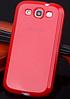 Cиликоновый чехол Samsung Galaxy S3 i9300 Красный