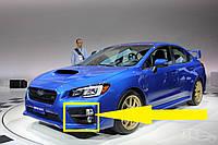 Левая решетка переднего бампера Subaru Impreza WRX и WRX STI 2014-17 новая оригинальная