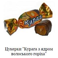 Курага з грецьким горіхом
