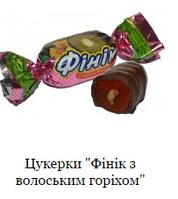 Фінік з грецьким горіхом