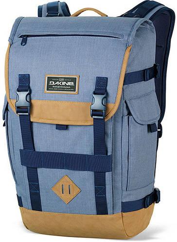 Удобный мужской городской рюкзак Dakine Vault 25L Chambray 610934842159 синий