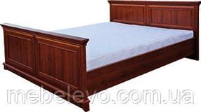Кровать Людовик 160 800х1765х2080мм каштан   Мебель-Сервис