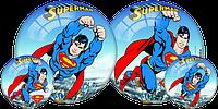 """Резиновый мяч Dema-Stil """"Супермен"""" 14 см."""