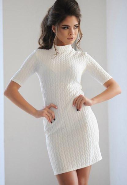 Платье Косичка