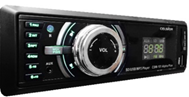 "Автомагнитола ""Celsior"" MP3/USB/SD/ISO/доп. разъем CSW-101 Alpha (зеленая подсв.)"