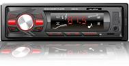"Автомагнитола ""Celsior"" MP3/USB/SD/ISO/доп. разъем CSW-102 (красная подсв.)"
