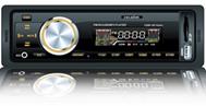 "Автомагнитола ""Celsior"" MP3/USB/SD/ISO/доп. разъем CSW-102 Alpha (оранж. подсв.)"