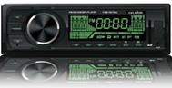 "Автомагнитола ""Celsior"" MP3/USB/SD/ISO/доп. разъем CSW-102 Beta (зеленая подсв.)"