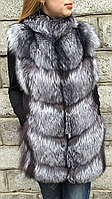Жилет из меха чернобурки, фото 1