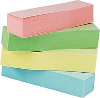 Закладки бумажные 51х12, 4 цв 100 лист BM.2306-99 (пастель)