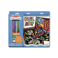 Набор для творчества Разноцветная гравюра