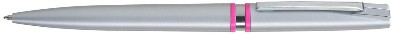 Ручка пластиковая VIVA PENS Rino Silver розовый