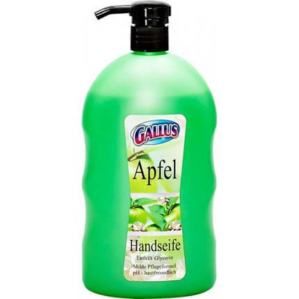 Жидкое мыло Gallus Apfel (яблоко) 1л, фото 2