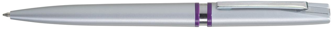Ручка пластиковая VIVA PENS Rino Silver фиолетовая