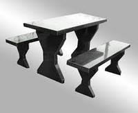 Столы и лавочки из гранита Житомир (Образец 601)