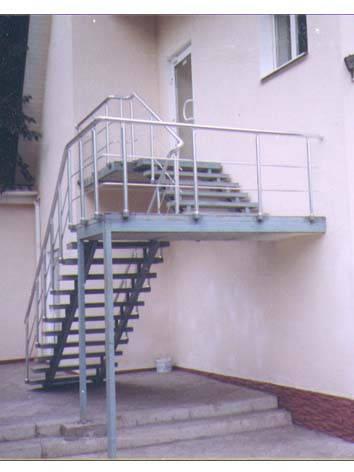 Лестницы металлические наружные, фото 2