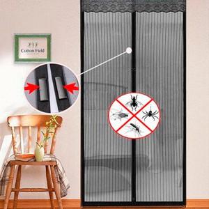 Дверная антимоскитная штора на магнитах