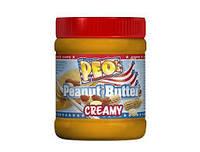 Арахисовая паста Peo's peanut butter crunchy 0.340 гр