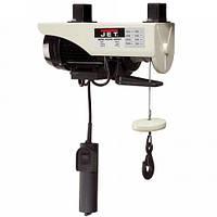 Таль электрическая тросовая, 1150Ватт,  330кг/ 660кг, подъем 12/6м, шв.10/5 м/мин, 17.5 кг JET WRH-1320.