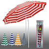 Зонт пляжный полосатый 2,5 м