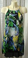 Платье женское легкое летнее сарафан нарядный р.42-44 6075а