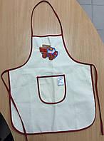 Детский фартух с вышивкой лен Ярослав