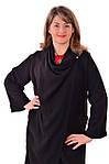 Кардиган черный удлиненный нарядный , По 017, большие размеры. , фото 5