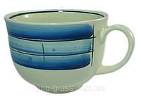 Чашка 500 мл керамическая «Аппетитка»  майя синяя 1 шт.