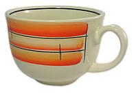 Чашка  500 мл керамическая «Аппетитка»  майя красная 1 шт.