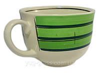 Чашка  500 мл керамическая «Аппетитка»  майя зелёная 1 шт.