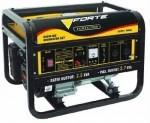 Бензиновый генератор (электростанция) Forte FG3500E (2,5 кВт-2,7 кВт, электрозапуск)