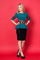 Элегантное платье модного кроя