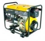 Дизельный генератор (электростанция) Forte FGD 6500E (4,4 кВт-4,8 кВт, электрозапуск)