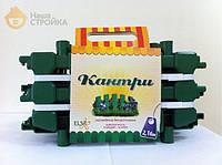 Ограждение декоративное Кантри 216 см зеленое