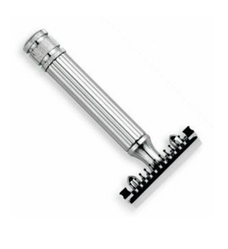Станок для бритья Т-образный Fatip Grande Chrome Open Comb