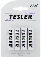 Батарейка TESLER Alkaline LR03 4sr