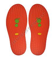 Резиновая подошва/след для обуви BISSELL, т.3,65 мм, art.111, цв. красный