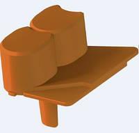 Палисадник декоративный (для газона) ZMM Maxpol 6см светло-коричневый