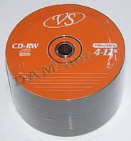 Диск CD-RW VS 700MB 80min 4-12x bulk 50