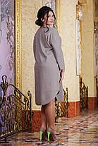 Д1056 Платье  лен размеры 50-56 в расцветках, фото 3