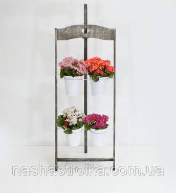 Деревянная подставка под цветы Мольберт 2/4 - Наша Стройка в Киеве