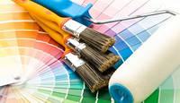 Фарби, декоративні штукатурки