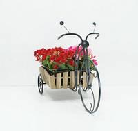 Подставка для цветов Велосипед 1 большой Кантри