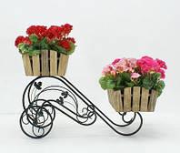 Подставка для цветов Тачка 2 Кантри