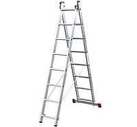 Лестница-стремянка двухсекционная Corda KRAUSE 2х8 ступеней