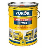 Масло 10w40 моторное дизельное YUKOIL MEGA DIESEL 10W-40 20 л