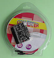 Конвертер, адаптер, переходник SATA - IDE двусторонний